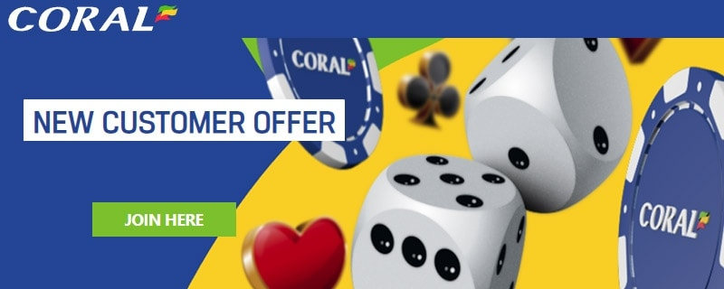 Coral Casino Promo Code - £50 Casino Bonus for July